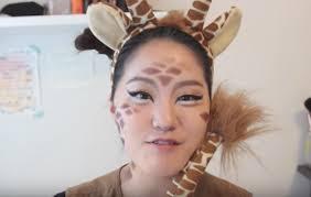 Giraffe Halloween Makeup 4 Easy Halloween Makeup Ideas Literally Anyone Can Do