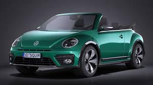 volkswagen beetle studio max 3d volkswagen beetle cabrio 2017
