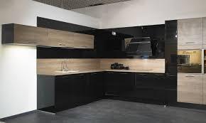 hochglanz küche lack küchen schwarz landschaftlich auf küche plus einbauküchen