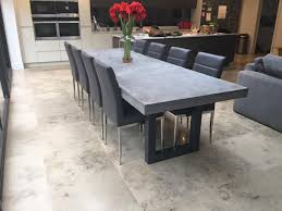 concrete and wood dining table best alluring concrete and wood simply sublime architecture on diy