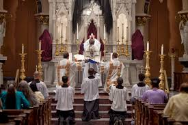 new liturgical movement the silent canon is worship supposed to