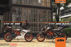 ktm rc 250 spied in india undisguised launch soon