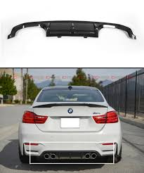 Bmw M3 Back - fits 2015 17 bmw f8x m3 m4 performance style carbon fiber rear