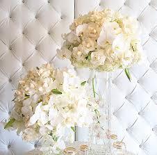 white centerpieces beautiful classic white centerpiece artquest flowers