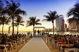 weddings in miami alana and adiel s miami sunset wedding alana married the of