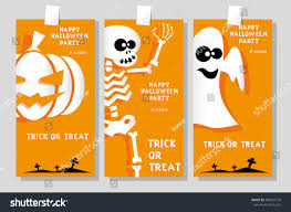 set funny holiday banner title happy stock vector 488547733
