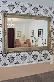 amazing shabby chic wall mirror shop large grey satin shabby