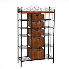 Wooden Bakers Racks Kitchen Room Magnificent Wire Shelving Bakers Rack Wrought Iron