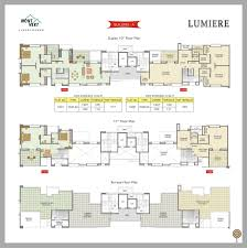 Duplex Layout Mont Vert Lumiere Pune Discuss Rate Review Comment Floor