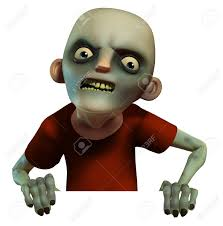 animated halloween clipart 3d cartoon halloween zombie stock photo picture and royalty free