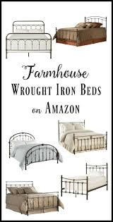10 amazing wrought iron farmhouse beds on amazon wrought iron