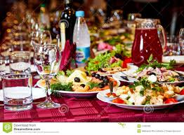 party table with alcohol food and drinks stock photo image 51906282
