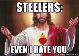 Steelers Suck Meme - steelers even i hate you steelers suck meme generator