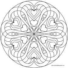beautiful mandala coloring pages heart mandala coloring pages beautiful love mandala coloring pages