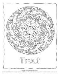 sea creature coloring pages salmon coloring parenting