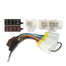 iso stereo adaptor wiring lead nissan micra 83 00 amazon co uk