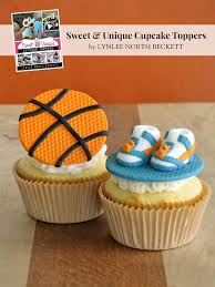 basketball cake topper nothing but net a basketball cupcake topper in 7 easy steps