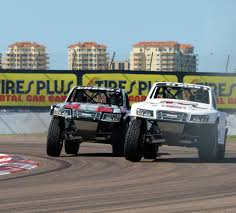 rallycross truck speed energy formula off road presented by traxxas