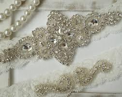 wedding garters wedding garters etsy