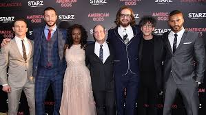 american gods american gods premiere cast says starz show is most relevant now
