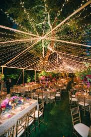 outdoor party tent lighting colorful outdoor wedding with supper club theme in los angeles ca