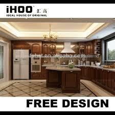 cuisine design de luxe nouveau design de luxe en bois massif meubles de cuisine italienne