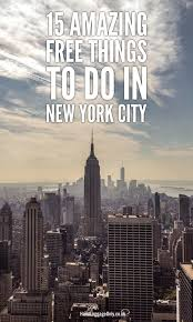 New York travel bug images 15 amazing free things to do when visiting new york city hand jpg