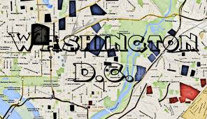 Metro In Dc Map by Washington Dc Hoods And Gangs Map