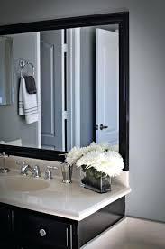 black framed bathroom mirrors black framed bathroom pictures amazing furniture interior and