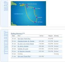 Map Of Southern Caribbean by Introduction And Cruise Itinerary Southern Caribbean Cruise