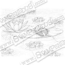 relax enjoy rubber stamp