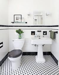 vintage black and white bathroom ideas vintage black and white bathroom home design ideas and pictures