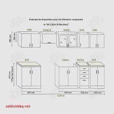 hauteur meuble bas cuisine hauteur meuble cuisine pour idees de deco de cuisine meubles