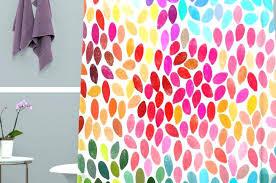 Bright Colored Curtains Bright Colored Curtains Shower Curtains Bright Colorful Shower