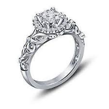 engagement rings silver images Sterling silver engagement rings ebay JPG