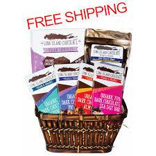 vegan gift baskets vegan chocolate basket