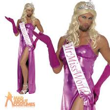 Prom Queen Halloween Costumes Fancy Dress Costume Stag Party Drag Prom Queen