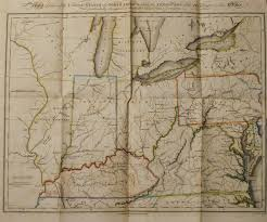 Ohio Erie Canal Map by 1810 U0027s Pennsylvania Maps