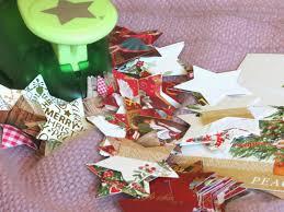 star chain christmas card recycling wheelingalong24