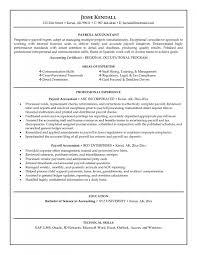 Resume Sample Vendor Management by Payroll Resume Template Resume For Your Job Application