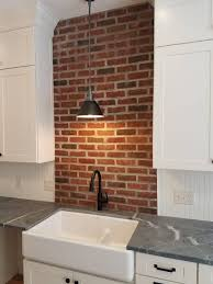 kitchen brick backsplashes u2013 midwest mosaic inc