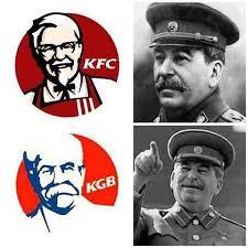 Stalin Memes - kfc vs kgb joseph stalin know your meme