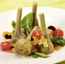 cuisiner les artichauts violets recette artichauts violets en salade