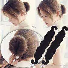 hairstyles using a bun donut simulated pearl sponge hair styling donut bun maker magic easy