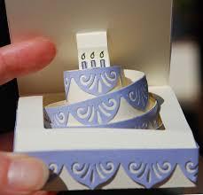 pop up card felicitatie met taart comgratulation with cake
