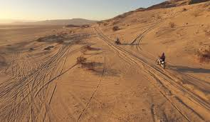 motocross biking dirt biking in the desert dji inspire drone and gopro hero 4 hd