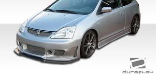 2005 honda civic front bumper free shipping on duraflex 02 05 honda civic si hb b 2 front bumper