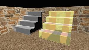 how to make stairs with a glass 3d model in sweet home 3d 02