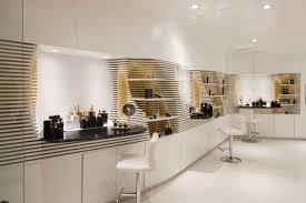 store interior design plenty of shelves in this cosmetics store interior design