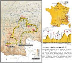Tour De France Route Map by Chasing The Tour Stage 16 Circle Of Death Cyclingtips